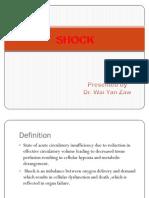 12. Shock Hypovolaemic & Septic Dr. Moe Myint