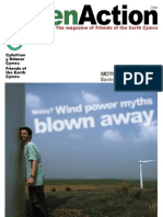 2008 Green Action Magazine, Friends of the Earth Cymru