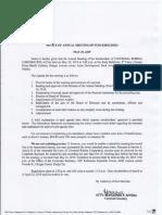 Universal Robina Corporation Difnitive Information Sheet  2019