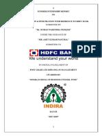 segmentation and penetration hdfc bank
