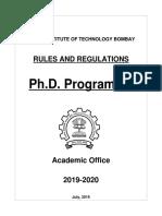 Phd Rules