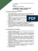 2 - Requisitos Generales y Particulares CABO SEGUNDO 2018
