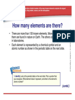 Percentage of Elements PowerPoint