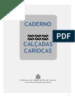 2019.05. Caderno Calcadas Cariocas