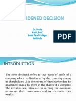 6. Dividend Policy