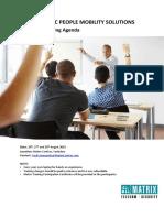 Matrix Technical Training Agenda