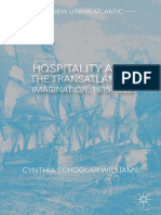 (the New Urban Atlantic) Cynthia Schoolar Williams (Auth.) - Hospitality and the Transatlantic Imagination, 1815–1835-Palgrave Macmillan US (2014)