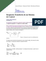 diseño de diagrama transitorio