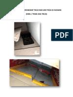 Foto Kondisi Perangkap Tikus Dan Lem Tikus Di Gudang