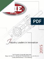 2015 AME Hydraulic Catalogue