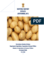 Monthly potato report