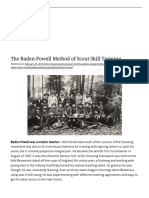 The Baden-Powell Method of Scout Skill Training