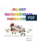 Project on Multistored Parking System