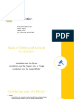 Conflicts - Jurisdiction Report