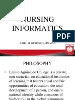 i. Nursing Informatics