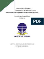 3 - Soal Ujian UT PGPAUD PAUD4106 Metode Pengembangan Bahasa