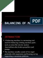 Balancing of Machine.ppt