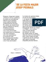 Segon relat de Josep Pedrals