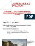 LA REVOLUTION FRANCAISE ET L'EMPIRE