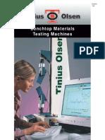 Benchtop Universal Testing Machine