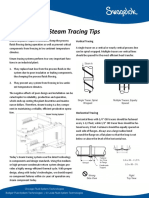 Steam Tracing Tips
