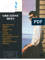 Buddy Holly s Greatest Hits Book