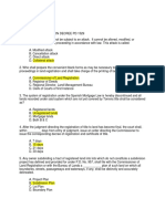 Basic Questions on Property Registration Decee PD 1529