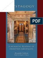 Golitzin, Bucur_Mystagogy. a Monastic Reading of Dionysius Areopagita (2014)
