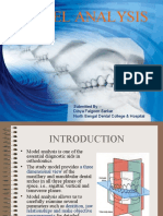 Ortho Study Model Analysis