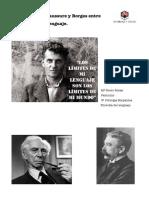 Wittgenstein, Saussure y Borges.