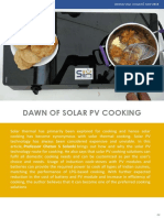 Dawn of Solar PV Cooking