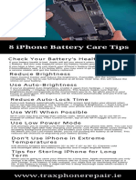 8 iPhone Battery Care Tips