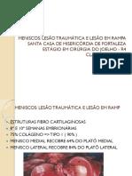 AULA LESÃO MENISCAL EM RAMPA
