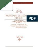 Propiedades de Alcoholes y Fenoles 2