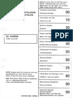 Parts Catalogue DC4160