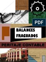 Peritaje Contable Balances fraguados