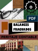 Peritaje Contable Balances fraguados