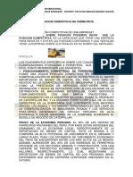 POSICION COMPETITIVA FERREYROS