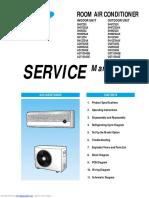 Room Air Condictioner Samsung - Service Manual