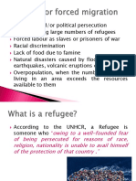 (CS) Forced Migration-Syria