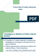Evolution of the Field of Public  Administration.pptx