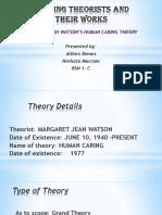 Jean Watsons Theory