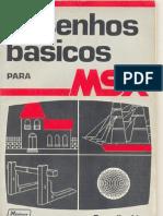 Desenhos Basicos MSX