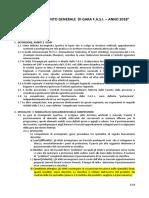 Regolamento Generale FASI 2018