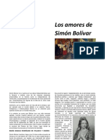 Los Amores de Simón Bolívar
