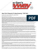 Allen Carr's Easyway To Stop Smoking TOP TIPS.pdf