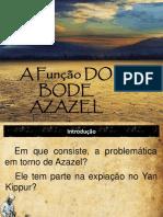Bode Azazel - Apresentação Reynan Matos
