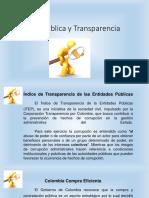 Ética Pública y Transparencia