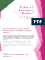 Investigacion Ruteador