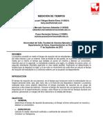Informe1_Medición de Tiempos